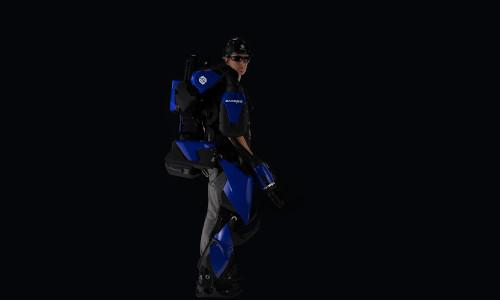 The full-body powered robotic exoskeleton.